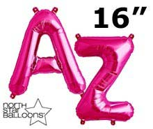 "16"" Magenta Letters"