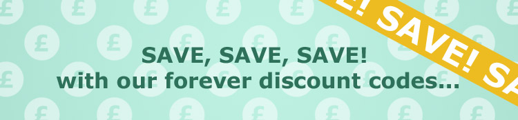 See what you could save with our forever discount codes...